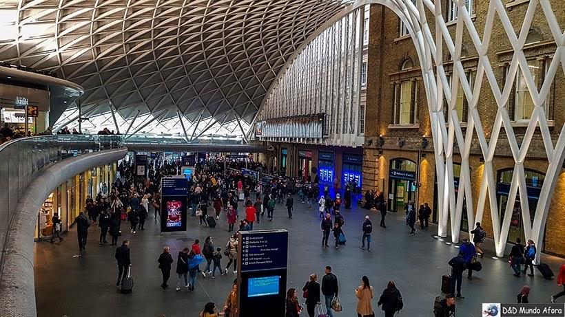 Estação King's Cross - O que fazer em Londres: 48 atrações imperdíveis