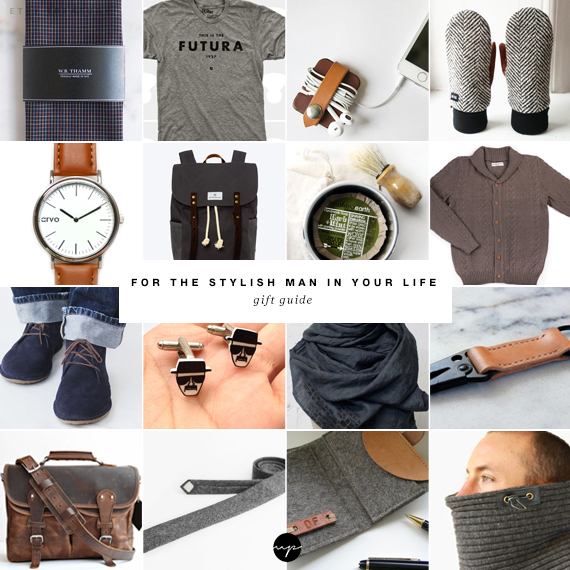 For the stylish man in your life gift guide | My Paradissi