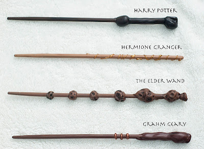 Pieces By Polly Diy Harry Potter Wands