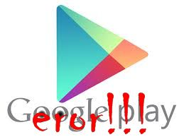 Google Play Store Eror