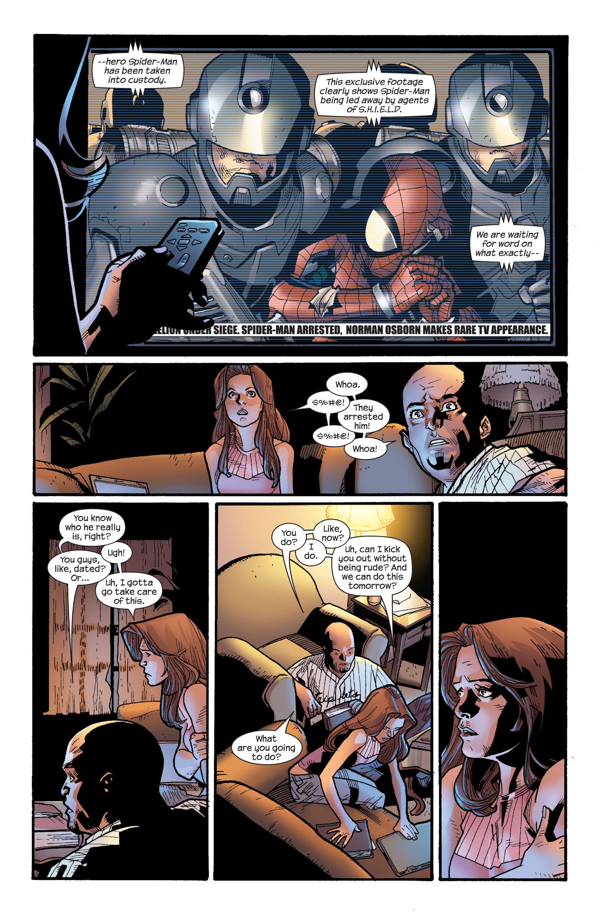 Read online Ultimate Spider-Man (2000) comic -  Issue #115 - 4