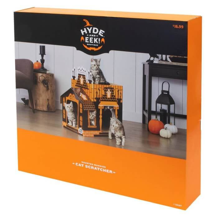 Target Sells Mini Haunted Houses So That Cats Can Celebrate Halloween