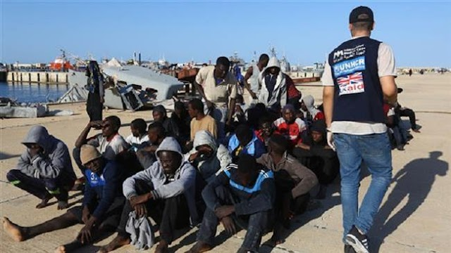 Interpol arrests 40 human traffickers after Libya slave auction
