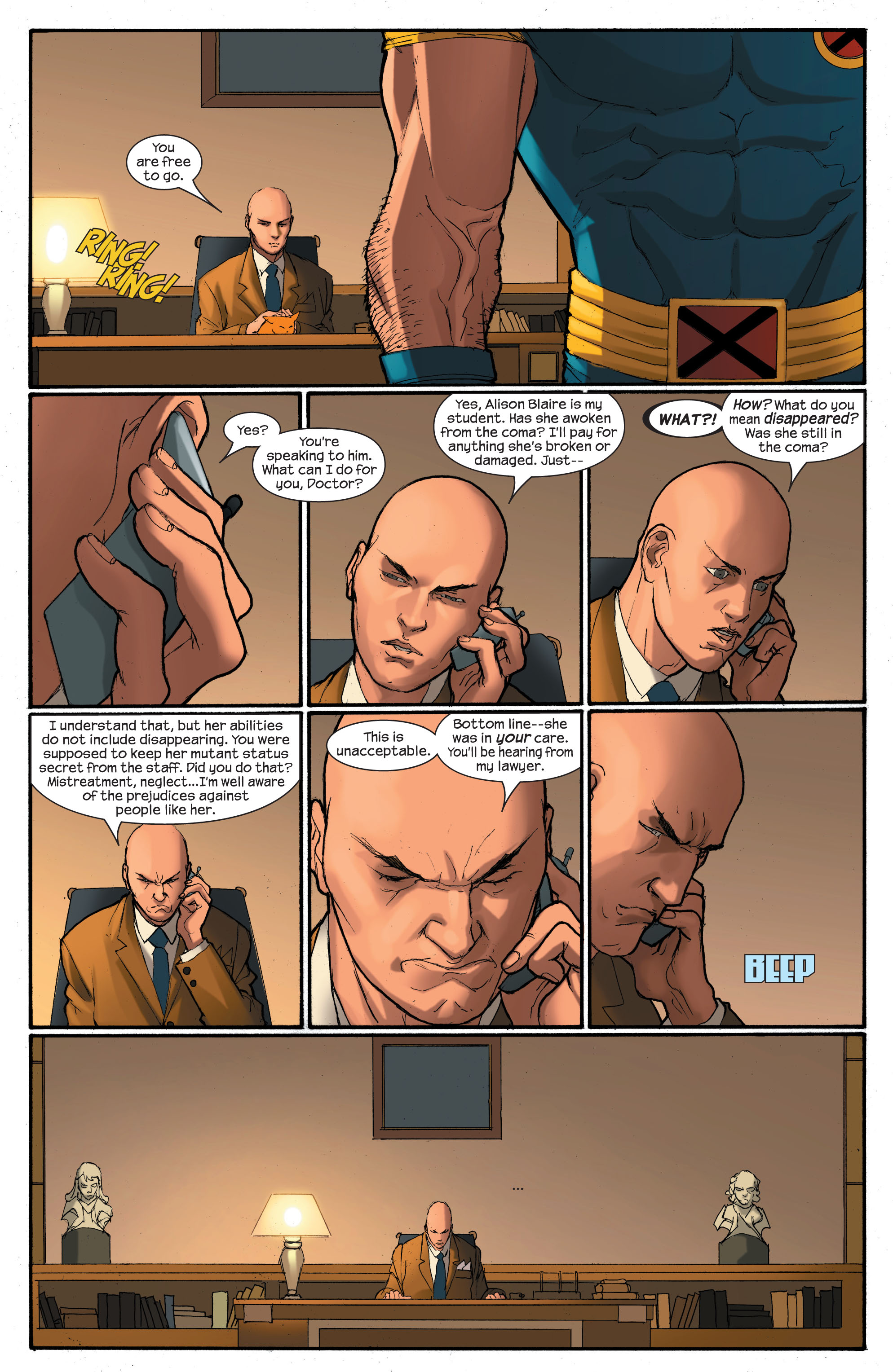 Read online Ultimate X-Men comic -  Issue # _Annual 2 - 14