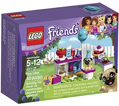Daily Cheapskate Lego Friends Party Cakes 50 Piece Set 41112