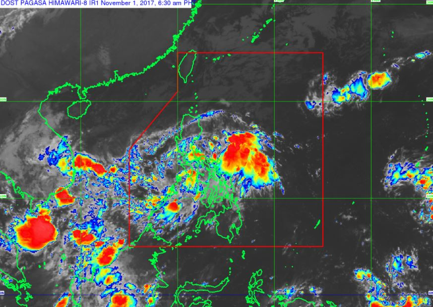 'Bagyong Ramil' PAGASA weather update November 1, 2017