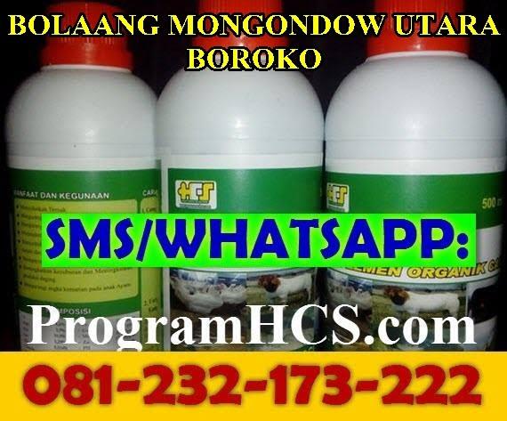 Jual SOC HCS Bolaang Mongondow Utara Boroko