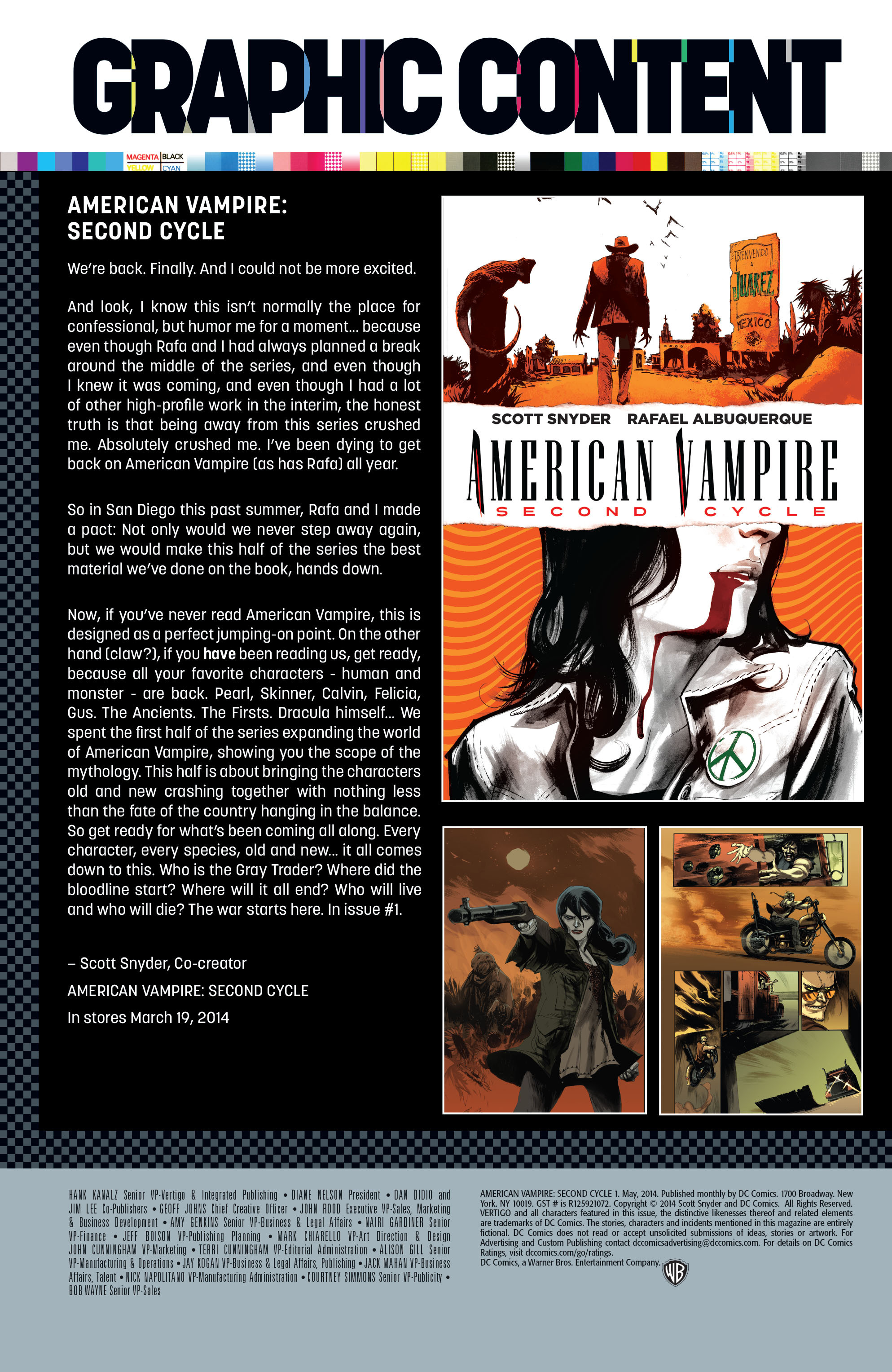 Read online American Vampire: Second Cycle comic -  Issue #1 - 30