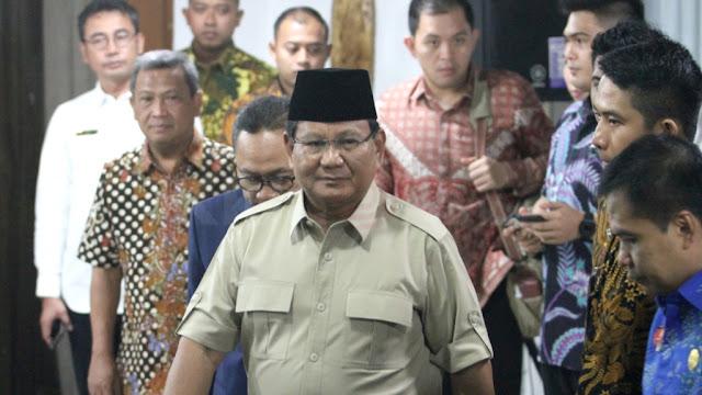 Belum Tentukan Cawapres, Prabowo: Sedang Dicari yang Terbaik untuk Semua