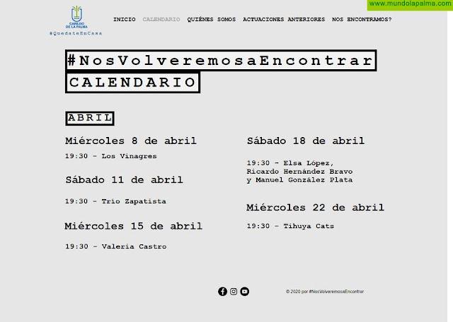 La cantante Valeria Castro y los poetas Elsa López, Ricardo Hernández Bravo y Manuel González Plata, próximos protagonistas en la plataforma #NosVolveremosaEncontrar