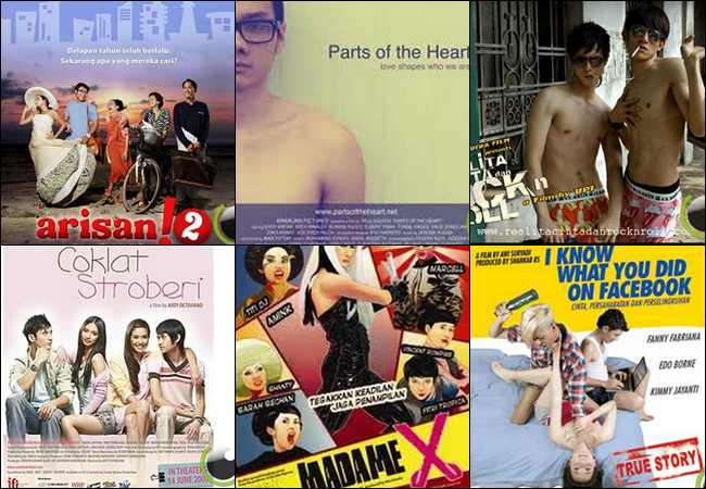 10 Film Terkenal di Indonesia yang Bertema Homo [Gay]