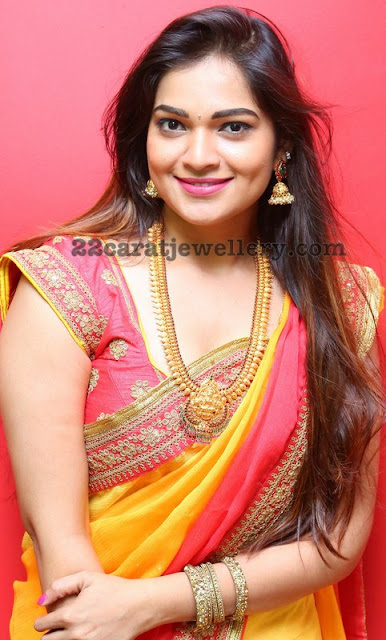 Actress Ashwini Mango Mala