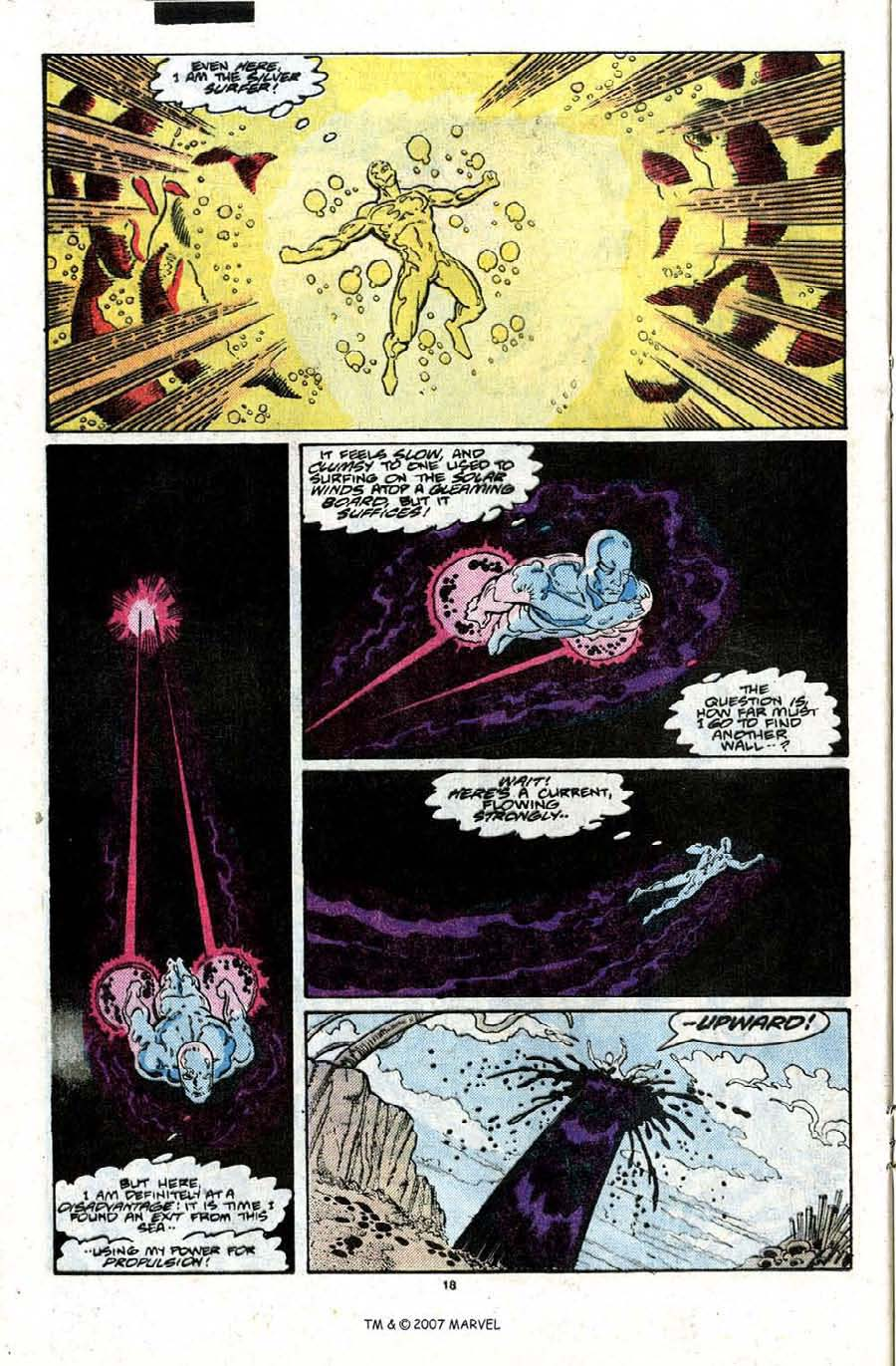 Read online Silver Surfer (1987) comic -  Issue #22 - 20