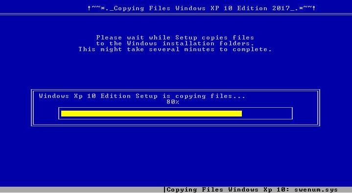 تحميل اجمد واجمل ويندوز إكس بى المطور 2017 Windows XP 10 Edition Sp3 باحدث البرامج والتعريفات