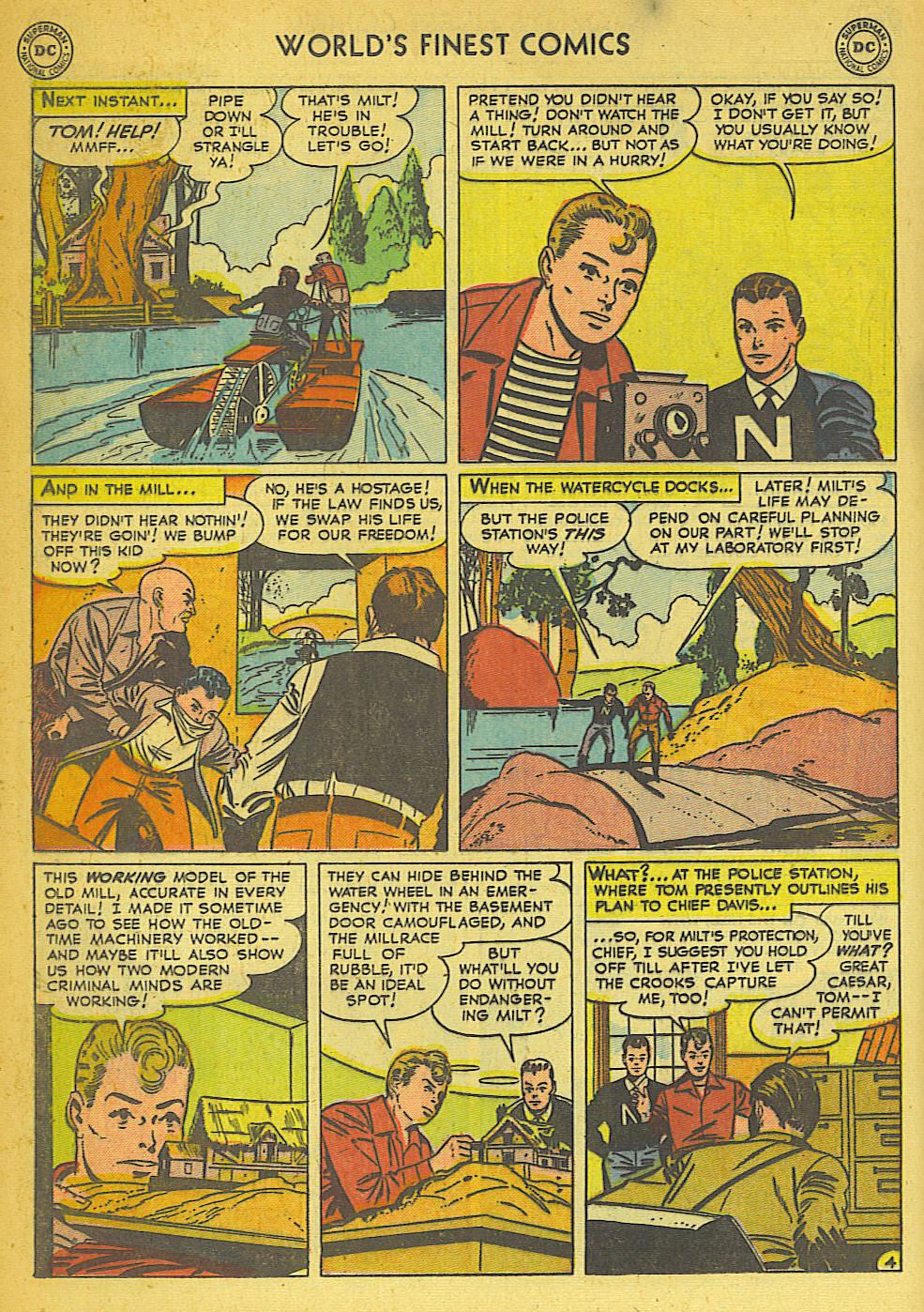 Read online World's Finest Comics comic -  Issue #57 - 44