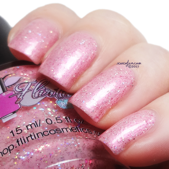 xoxoJen's swatch of Flirtin Pinking of You