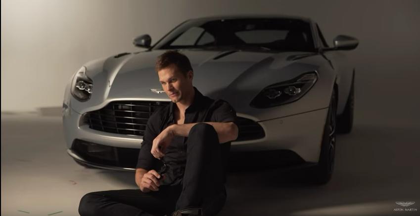 Tom Brady Signs Endorsement With Aston Martin NePatriotsLifecom - Aston martin new england