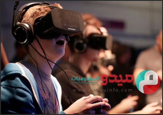 تقنية الواقع الإفتراضي مدونة ميدو للمعلوميات