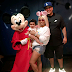 Blac Chyna ,Rob Kardashian and Dream spend Father's day at Disneyland