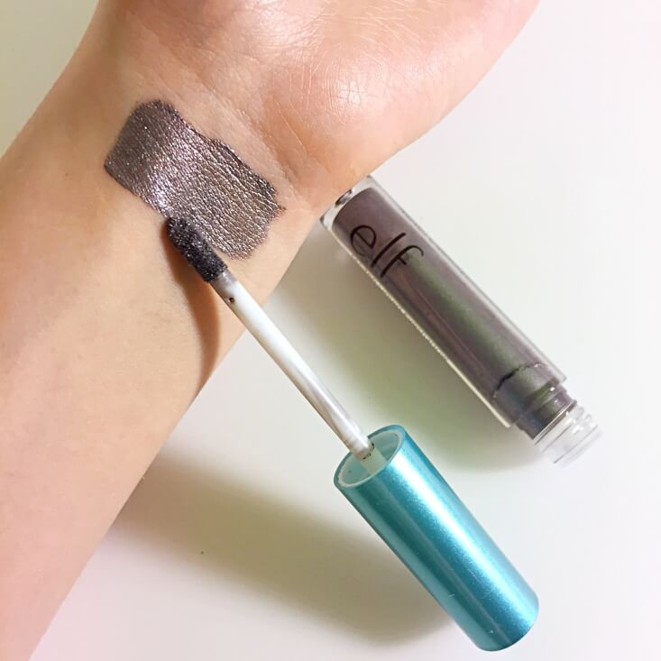 e.l.f. Aqua Beauty Molten Liquid Eyeshadow Cool Steel