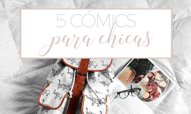 5 cómics para chicas
