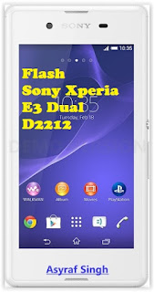 e3%2Bdual Guide To Upgrade or Flash Sony Xperia E3 Dual D2212 Using XperiFirm And Flashtool. Root
