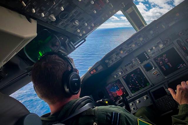 RAF aircrew have commenced flying phase of training for P-8A Poseidon