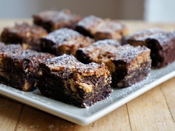 REZEPT: glutenfreie Erdnuss-Butter Brownies