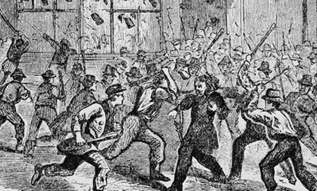 new york city draft riots of The new york city draft riots of 1863 an excerpt from in the shadow of slavery: african americans in new york city, 1626-1863 by leslie m harris.