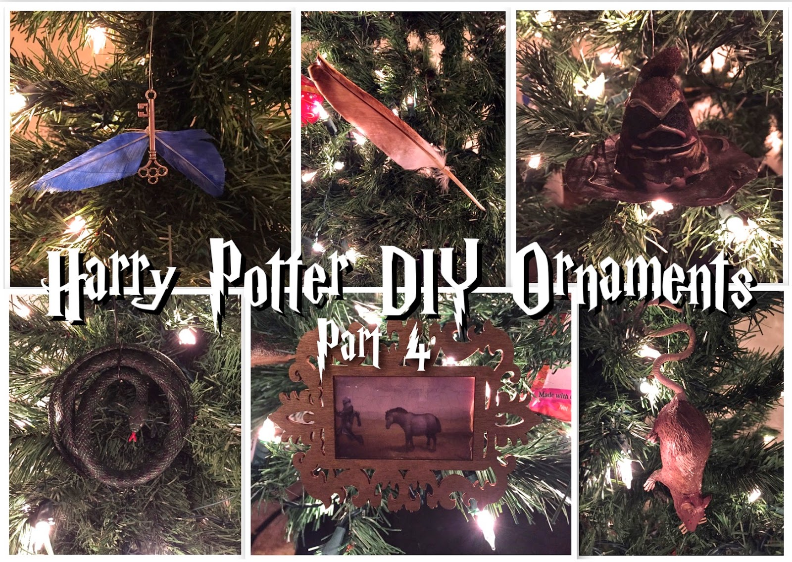 easy as diy diy harry potter ornament series part 4 winged key quill sorting hat nagini. Black Bedroom Furniture Sets. Home Design Ideas