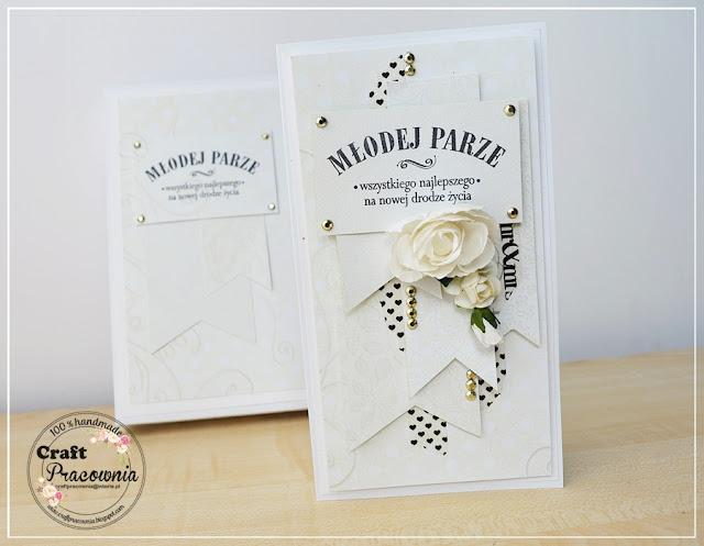 biały komplet ślubny