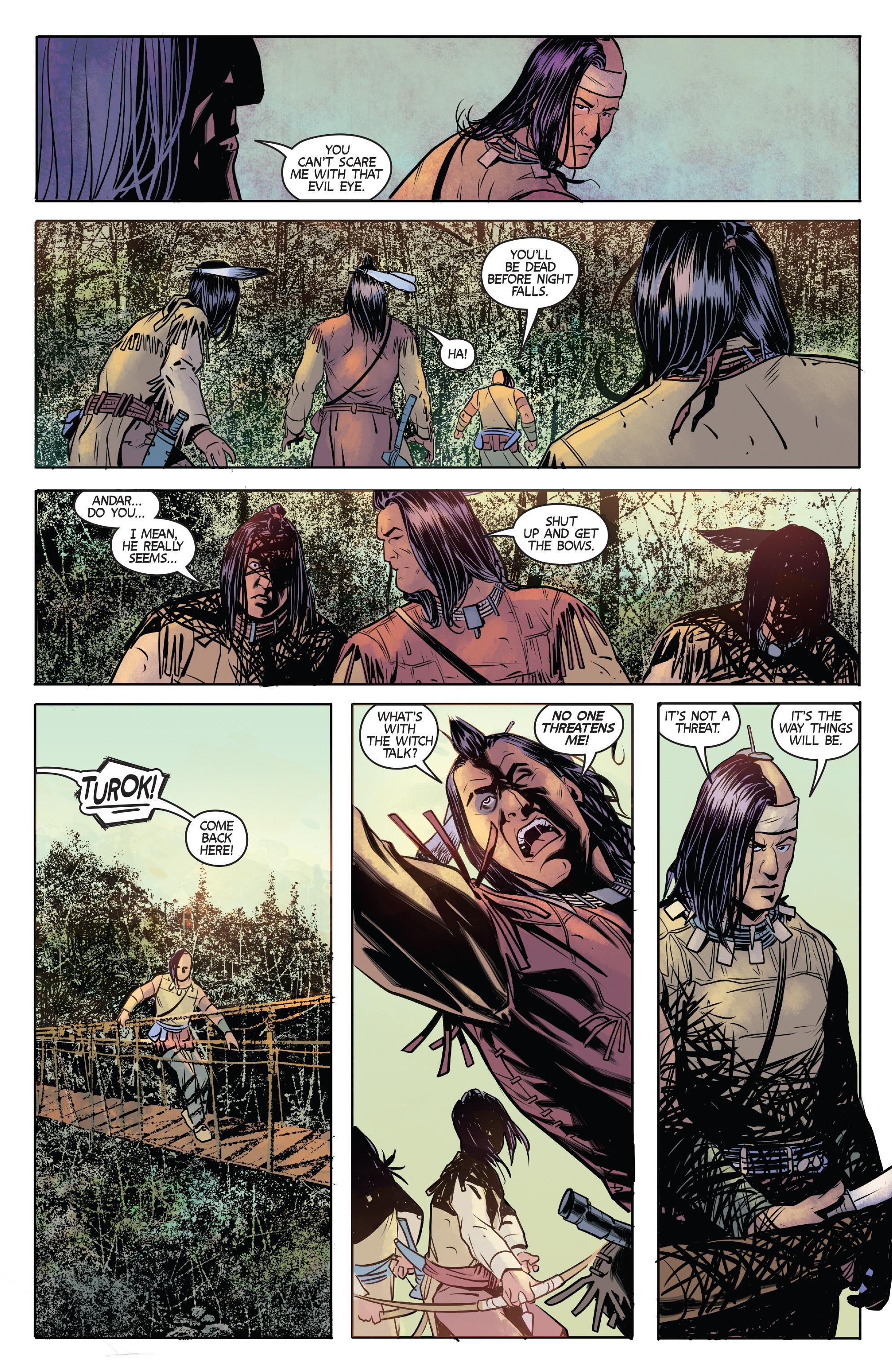 Read online Turok: Dinosaur Hunter (2014) comic -  Issue # _TPB 1 - 18