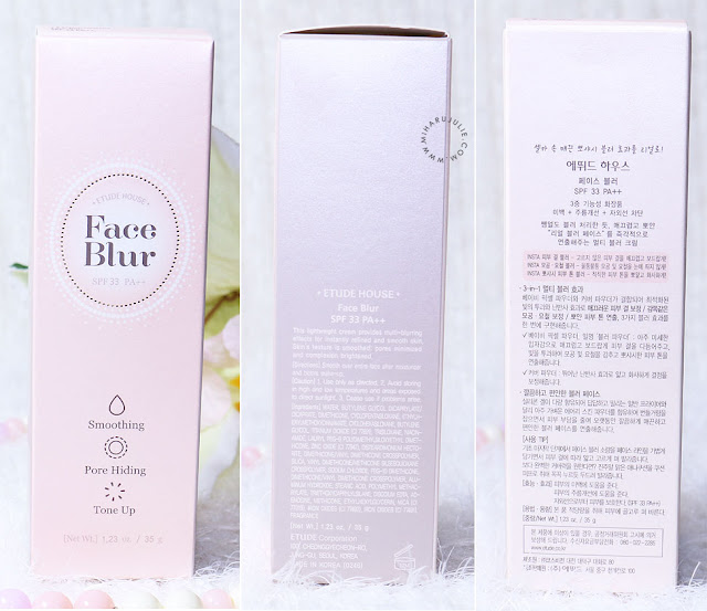 etude house beauty shot face blur spf15