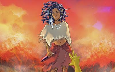 Amandla Stenberg's new comic character: Niobe, InToriLex, BookScoop