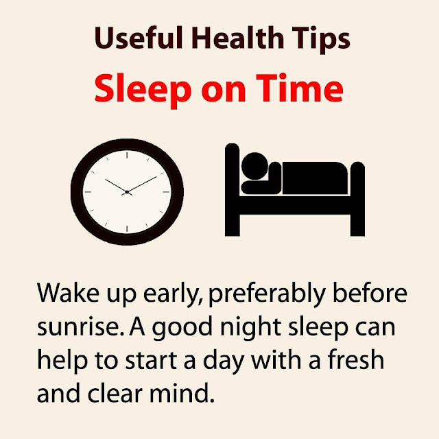 Health Tips - Sleep on Time