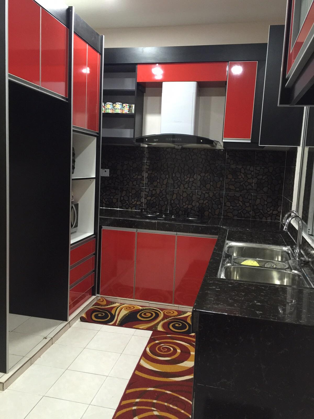 Kitchen cabinet farroda februari 2016 for Kitchen cabinet murah 2016