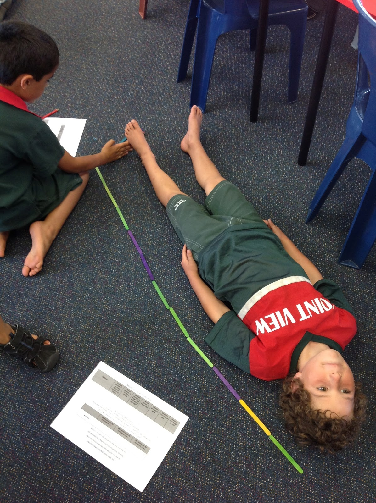 Kids With A View Measurement Fun