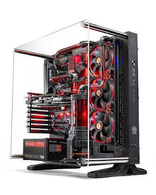 SkyTech Supremacy X Gaming Computer PC Desktop - i7-7700K