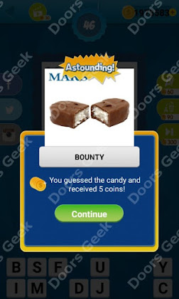 Answers, Cheats, Solutions for Guess the Candy Level 46 for android and iphone