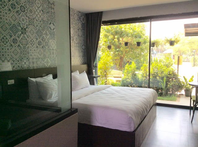 Standard room at Anantaya Home in Phrae, North Thailand