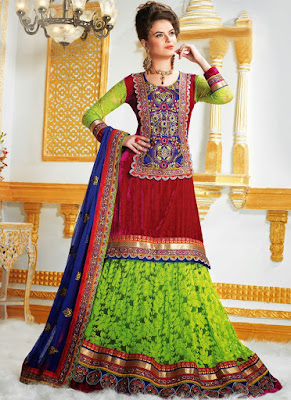 latest-lehenga-saree-indian-blouse-designs-2016-17-for-women-11