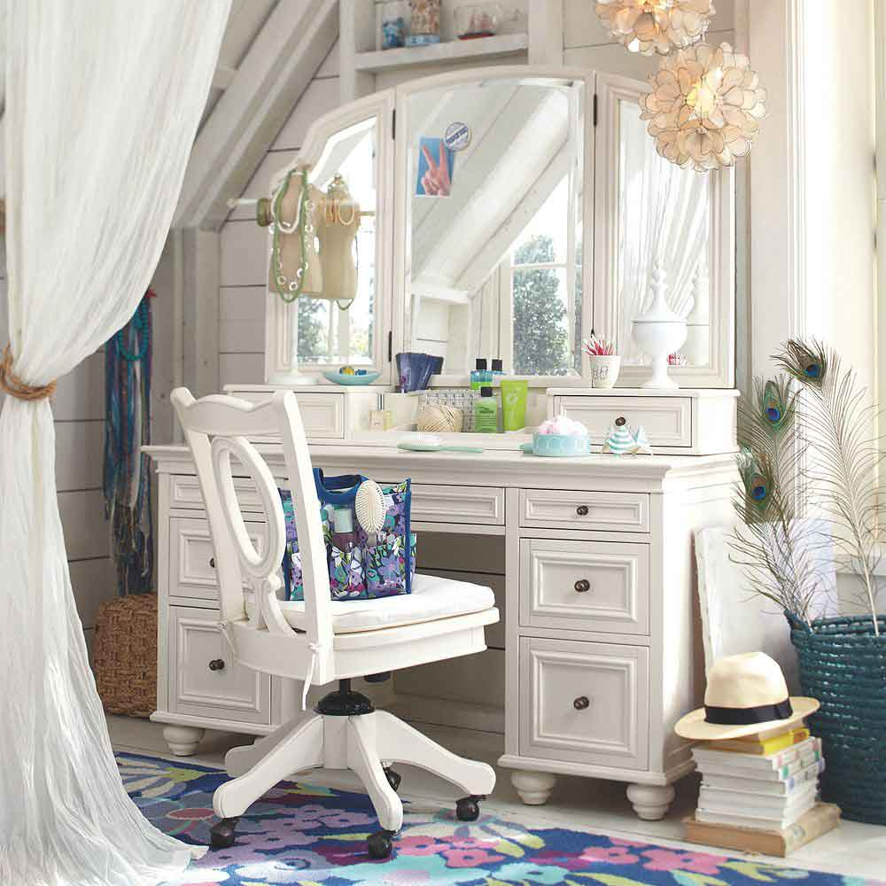 purple makeup vanity chair wing slipcover vintage bedroom on pinterest | dressing tables, and roses