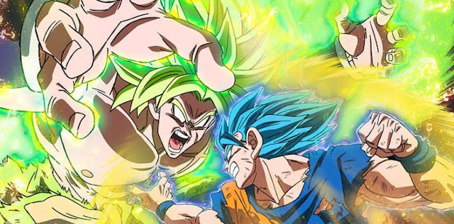 Lucha dragon ball super: Broly