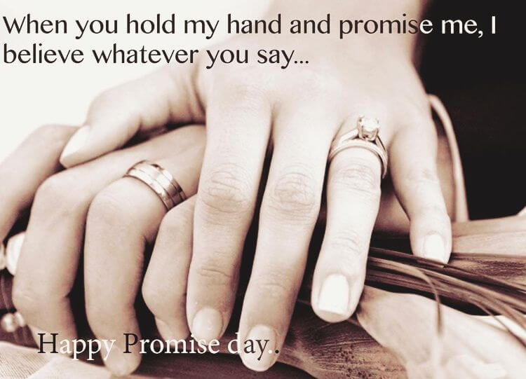 Promise Day Quotes Wishes Greetings For Him & Her