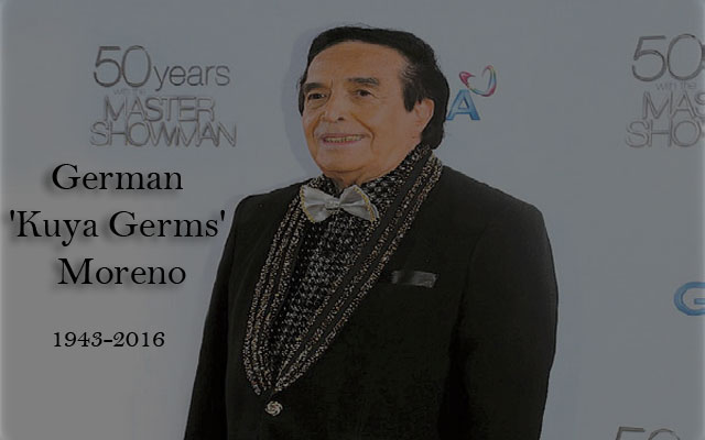 Veteran Actor German Moreno 'Kuya Germs' has Passed Away