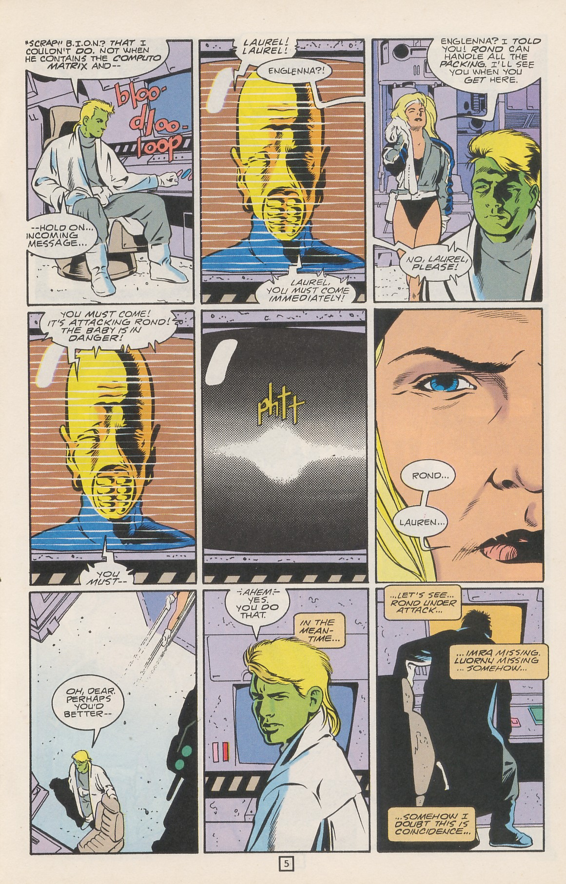 Legion of Super-Heroes (1989) 42 Page 6