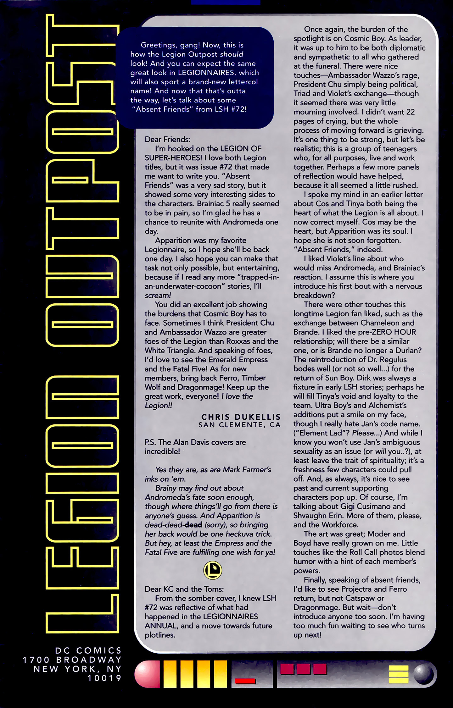 Legion of Super-Heroes (1989) 78 Page 23