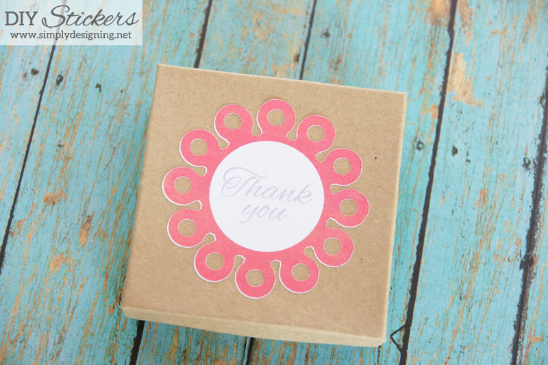 DIY Stickers | create your own custom stickers with the print and cut feature and your Silhouette!  Click to learn more |  #silhouette #printandcut #stickers #diy #crafts