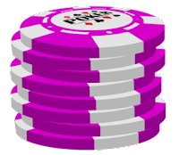 pink poker chip stack