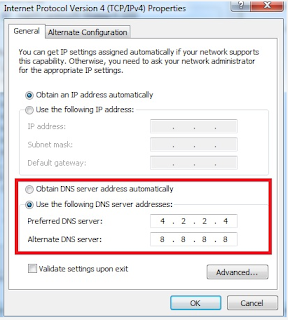 How to change DNS  Windows - techbmc